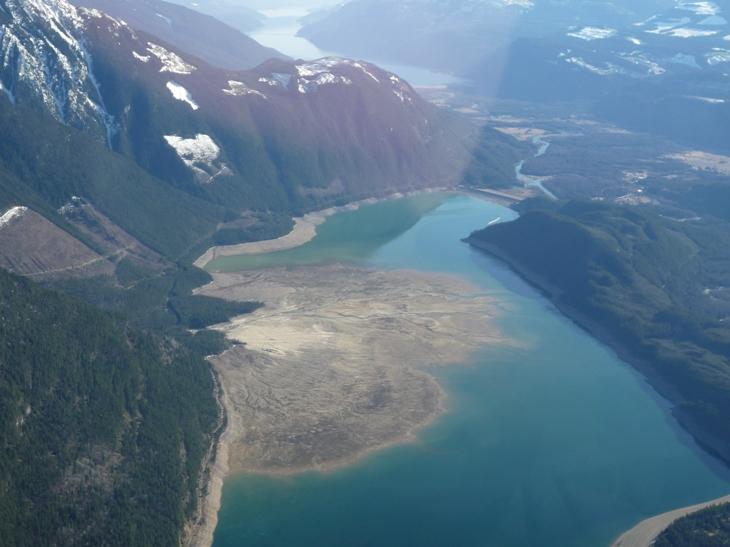 Landslide in the Kootenays, BC