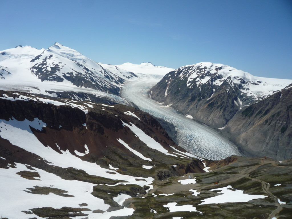Glacier near Stewart, BC