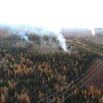 Clearing Fires near Cranbrook, BC